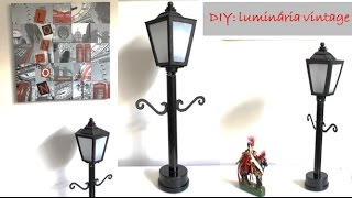 getlinkyoutube.com-DIY decoração: Luminária vintage