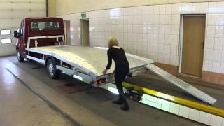 getlinkyoutube.com-Zabudowa aluminiowa www.juzjade.pl autolaweta pomoc drogowa alu najazd