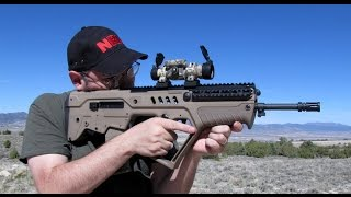 getlinkyoutube.com-Explosive Review - IWI Tavor with Aimpoint Red Dot - Worth $2000 ?