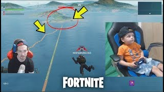 *4 YEAR OLD KID* Helps TRUMAnn Build A Bridge To Get Back To The SPAWN AREA!