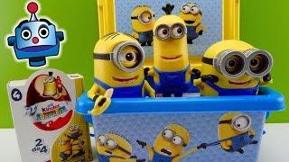 getlinkyoutube.com-Minions Caja con Juguetes y Huevos Sorpresa Minions Surprise Box - Juguetes de Los Minions