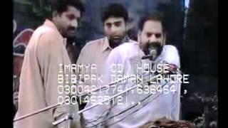 ZAKIR NAWAB ARIF  DHANDO  YADGAR MAJLIS AT 17 MUHARAM AT KARBALA GAME SHAH LAHORE