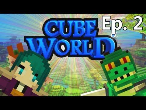 Ep. 2 - Monark e Leon no Cube World!
