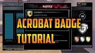 getlinkyoutube.com-NBA 2K16 Acrobat Badge Tutorial