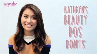 Kathryn-Bernardos-Beauty-Dos-and-Donts width=