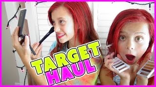 getlinkyoutube.com-💞TARGET HAUL 💞MAKEUP AND HAIR PRODUCT REVIEW💞MAKEUP MONDAY | SMELLYBELLYTV