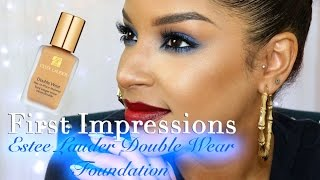 getlinkyoutube.com-First Impression | Estēe Lauder Double wear Foundation