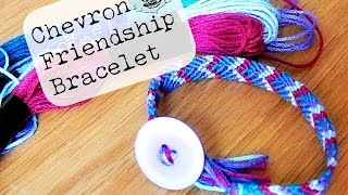 getlinkyoutube.com-DIY Chevron Friendship Bracelet ¦ The Corner of Craft