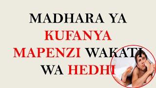 Madhara Ya Kufanya Mapenzi Wakati Wa Hedhi