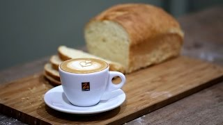 getlinkyoutube.com-Resep Roti Tawar Lembut, Enak, Mudah dan Tidak Diuleni Sama Sekali  [ BREAD & BEANS ]