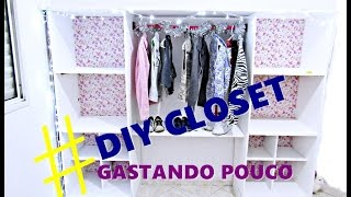 getlinkyoutube.com-#Diário da Reforma 1  DIY  (faça seu mini closet gastando pouco)