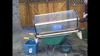 getlinkyoutube.com-Compost Tumbler/ aka Trommel/Sifter/Sieve