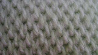 getlinkyoutube.com-Crochet - Afghan or Tunisian Crochet Waffle Stitch