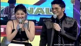getlinkyoutube.com-Vhong and Anne Kilig Moment