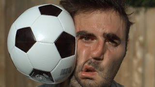 Football to the Face 1000x Slower - The Slow Mo Guys