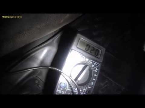 Ford Fusion - индикатор незакрытой двери