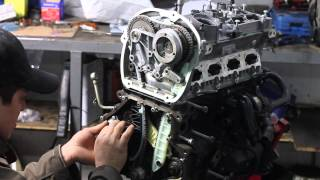 getlinkyoutube.com-VW GOLF MK6 GTI 2.0 TSI ENGINE REBUILD - Reparatie motor Golf 6 GTI - Coasta de Est Service