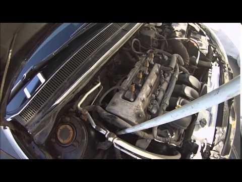 Как избавиться от свиста ремней мотора своими руками (Toyota Matrix, Corolla, Pontiac Vibe)