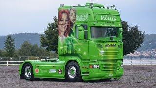 """getlinkyoutube.com-Scania R 520 """"ABBA"""" Müller Ermensee"""