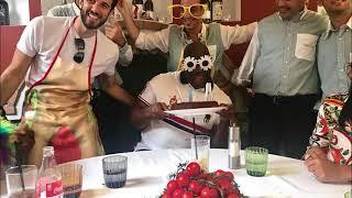 Magic Johnson festeggia il compleanno a Capri