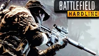 getlinkyoutube.com-Battlefield Hardline Stealth Sniper Mission Gameplay Veteran