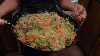 Filipino Pancit Bihon-Canton Recipe