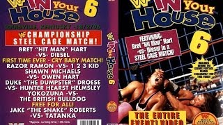 WWF In Your House 6 Rage In the Cage 1996