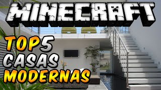 "getlinkyoutube.com-Minecraft Top 5 - ""Casas Modernas"" - Episodio 11"
