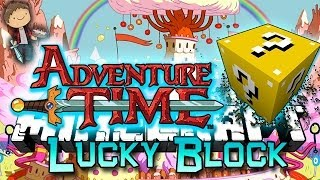 getlinkyoutube.com-Minecraft: Adventure Time Lucky Block PVP Edition! Modded Mini-Game w/Mitch & Friends!