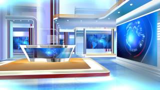 getlinkyoutube.com-FREE HD Virtual Studio set with GREEN SCREEN HD