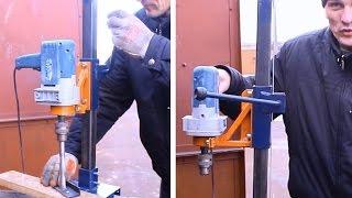 getlinkyoutube.com-Самодельная стойка для дрели своими руками.Часть3.Homemade drill press
