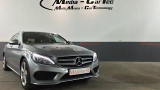 getlinkyoutube.com-Mercedes C-Class W205 250CDI and Maxhaust Active Motorsound