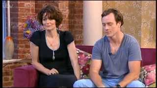 getlinkyoutube.com-Toby Stephens and Anna Chancellor on This Morning 09-07-2013