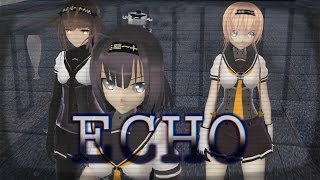 【MMD艦これ】ECHO【秋月/初月/照月】