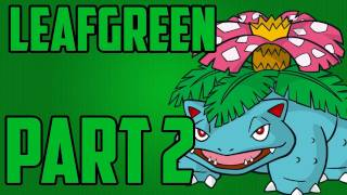 getlinkyoutube.com-Pokemon - Leaf Green Walkthrough Part 2 / Second Rival Battle