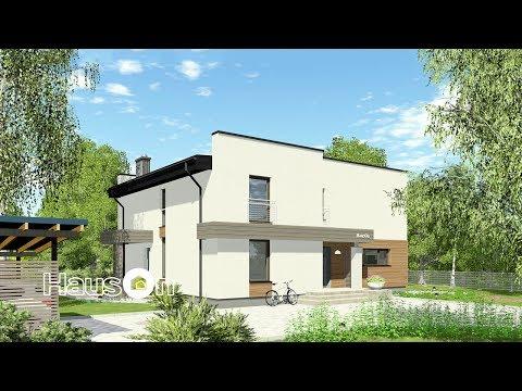 Namų projektai | Namo projektas TOBAJUS | www.hauson.lt