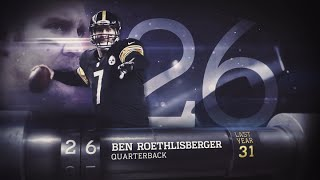 getlinkyoutube.com-#26 Ben Roethlisberger (QB, Steelers) | Top 100 Players of 2015