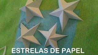getlinkyoutube.com-ESTRELA DE PAPEL 5 PONTAS ORIGAMI