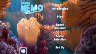 getlinkyoutube.com-Finding Nemo: Disc 1: UK DVD Menu