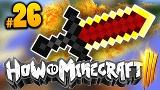 "getlinkyoutube.com-Minecraft HOW TO MINECRAFT 3 ""AMAZING SWORD ENCHANT!"" Episode 26 w/ MrWoofless"