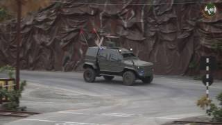 getlinkyoutube.com-IAG IDEX 2017 Guardian Max II Xtreme Tracker APCs  armored water cannon Abu Dhabi UAE