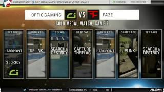 getlinkyoutube.com-OpTic Gaming vs FaZe - GOLD Medal Match (MLG #XGames Austin 2015)