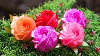 getlinkyoutube.com-วิธีพับเหรียญโปรยทานดอกกุหลาบแย้ม - 108 Ribbon