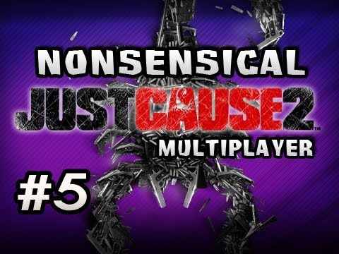 Nonsensical Just Cause 2 Multiplayer w/Nova &amp; Sp00n Ep.5 - TRIP TO THE MILE HIGH CLUB