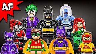 getlinkyoutube.com-Lego Batman Movie Minifigures 2017 Complete Collection Review