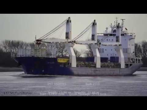 Click to view video ZEA WALAWE - IMO 9500065 - Germany - River: Weser - City: Brake Unterweser - 4K VIDEO
