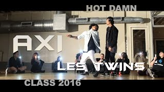 getlinkyoutube.com-AXI / LES TWINS / HOT DAMN / 4k  Director: Shawn Welling AXI