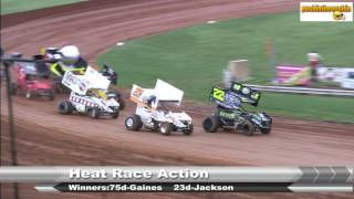 getlinkyoutube.com-Racesaver 305's at Bloomington Speedway  8/26/16