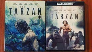 getlinkyoutube.com-LEGEND OF TARZAN - 3D Steelbook (Amazon exklusiv) + 4K Ultra HD Blu-ray Unboxing [UHD]