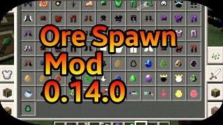 getlinkyoutube.com-[MOD] ORE SPAWN V9.0 (VARIOS ITENS, MOBS , ARMADURAS) |Minecraft PE| 0.14.0 ✅XANDY✅